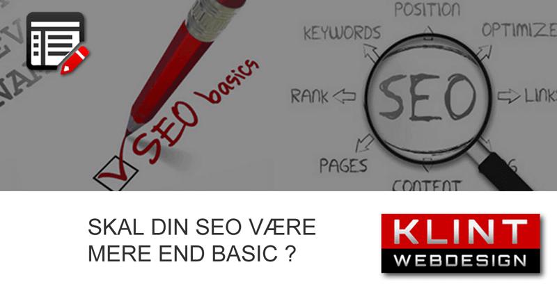 Hvad er SEO - søgemaskineoptimering?
