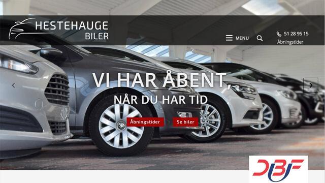 Hestehauge Biler - Ny Hjemmeside