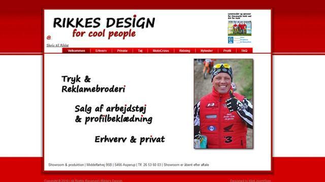 Rikke's Design - Reference
