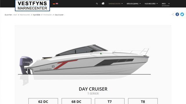 VMAC - Hjemmeside med Finnmaster Design